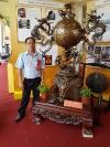 Nghệ nhân Dương Bá Tân được phong tặng danh hiệu nghệ nhân ưu tú