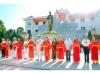 Khánh thành tượng đài Hồ chí Minh tại trụ sở công an tỉnh Ninh Bình